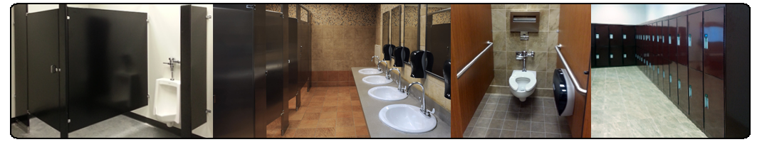 Snap wall toilet partition division partitions