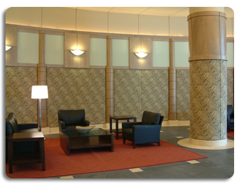 Acoustic Lobby Waiting Areas