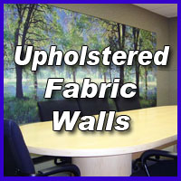 Upholstered Fabric Walls